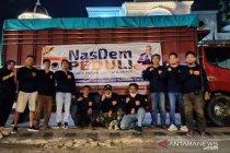 NasDem Sulteng kirim logistik lima truk untuk penyintas gempa Sulbar