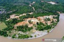 Walhi: Kerusakan hutan di Aceh Barat akibat tambang ilegal