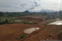Wisata Alam Lembah Bukit Semugang di batas RI-Malaysia dibangun