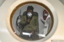 Proses menghilangkan kadar nitrogen dalam tubuh penyelam SAR Sriwijaya Air