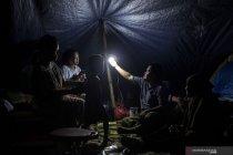 Pengungsi korban gempa bumi di Sulawesi Barat