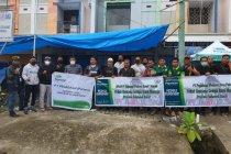 Bantuan logistik kemanusiaan Pegadaian Makassar tiba di Mamuju