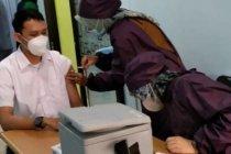 Vaksinasi nakes di Bandarlampung baru berjalan di satu puskesmas