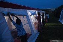 Pengungsi korban gempa Sulawesi Barat huni tenda COVID-19 Kemensos