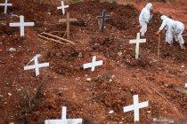 Penambahan makam untuk korban COVID-19