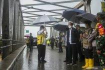 Kemarin, Presiden pantau banjir hingga cadangan logistik daerah