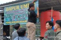 11 dapur umum layani kebutuhan pangan korban banjir Kalsel