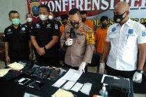 Polrestabes Medan tangkap empat kurir 415 gram sabu asal Aceh