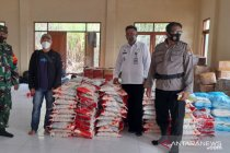 Bantuan Ziyap-ANTARA Kaltara Peduli Banjir Sembakung disalurkan