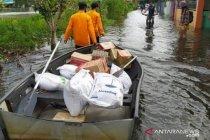 Hingga hari ketujuh banjir Banjarmasin total 100 ribu warga terdampak