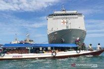 Prajurit TNI AL disebar ke pulau-pegunungan antar bantuan gempa Sulbar
