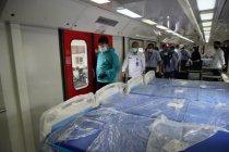 Wali Kota Madiun tinjau kereta medis buatan INKA untuk ruang isolasi