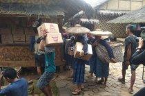 Puluhan warga Baduy gelar selamatan kampung cegah COVID-19