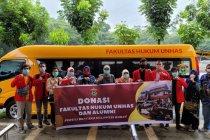 Relawan FH Unhas salurkan bantuan ke Sulbar