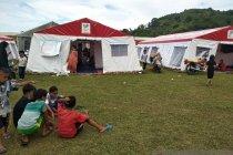 Warga korban gempa Mamuju masih trauma berada di dalam rumah