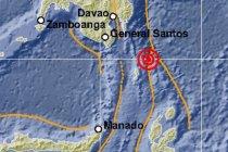 Gempa magnitudo 7,1 di Talaud akibat subduksi Lempeng Filipina