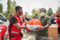 PMI sisir lokasi pengungsian di wilayah pegunungan Malunda Sulbar