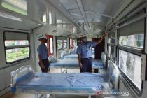 Kereta Medik Darurat jadi ruang isolasi pasien COVID-19