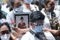 Pemakaman pramugari korban kecelakaan Sriwijaya Air SJ182