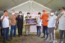 Untuk kebutuhan penyintas gempa Sulbar, Sulteng bantu Rp700 juta