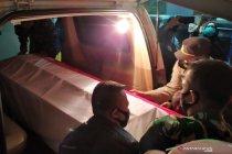 Jenazah Praka Roy korban tertembak KKB di Papua tiba di Bandung