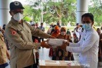 Pemkab Nagan Raya terima bantuan 18.490 masker untuk 157 sekolah dasar