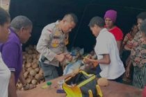 Kapolres Merauke berdayakan Suku Asmat keterampilan home industry