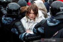 Adik Navalny ditahan polisi Rusia
