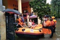Banjir Kota Bekasi akibat luapan kali sekunder