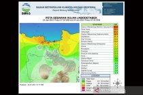 BMKG keluarkan peringatan dini cuaca Jabodetabek