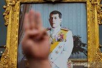 Aksi tuntut mundur PM Thailand dan penolakan vaksinasi COVID-19