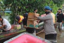 Brimob Kalsel alihkan fokus ke wilayah banjir Barito Kuala