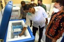 Wali Kota Kediri pastikan kondisi vaksin COVID-19 tersegel baik