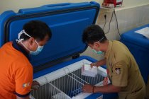 3.680 dosis vaksin COVID-19 disimpan di Gudang Farmasi Kota Kediri