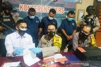 Polres Kotim tangkap tiga sekawan palsukan surat hasil tes cepat COVID