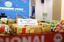 BNN sita 211 kg sabu dari dua pengungkapan di Aceh dan Sumsel