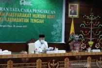 Pemprov Kalteng luncurkan tata cara pengakuan masyarakat hukum adat