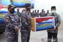 TNI AL kirim dua armada dapur lapangan tangani korban banjir Kalsel
