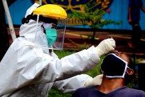 672 warga binaan Lapas Narkotika Cirebon lakukan uji usap