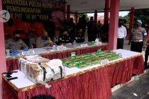 Polisi Kepri sita 46 kilogram sabu asal Malaysia