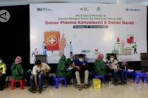 Ratusan penyintas COVID-19 donor plasma konvalesen di Tanjung Perak