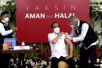 Besok Presiden Jokowi akan terima vaksin COVID-19 dosis kedua
