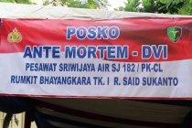 6 jenazah korban Sriwijaya Air SJ-182 kembali teridentifikasi