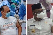 Gubernur Babel dan Gubernur Maluku penerima vaksin perdana di daerah setempat