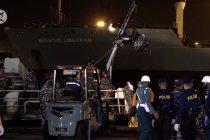 Hasil pencarian Polair dan TNI AL temukan turbin pesawat