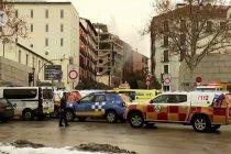 Ledakan di pusat kota Madrid, satu bangunan runtuh