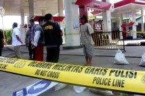 Polisi datangkan sejumlah ahli selidiki sumber ledakan SPBU Margomulyo Surabaya