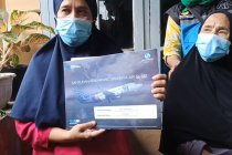 Jasa Raharja dan Gubernur Babel serahkan santunan korban Sriwijaya Air Rosi Wahyuni