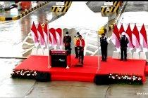 Presiden Jokowi resmikan Tol Kayu Agung - Palembang