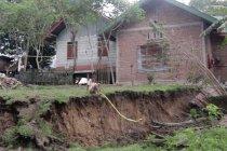 Fenomena tanah bergerak di Aceh, kedalaman telah mencapai 2 meter